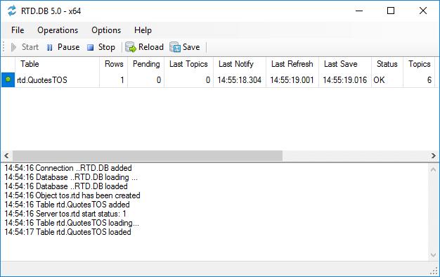 RTD.DB Interface
