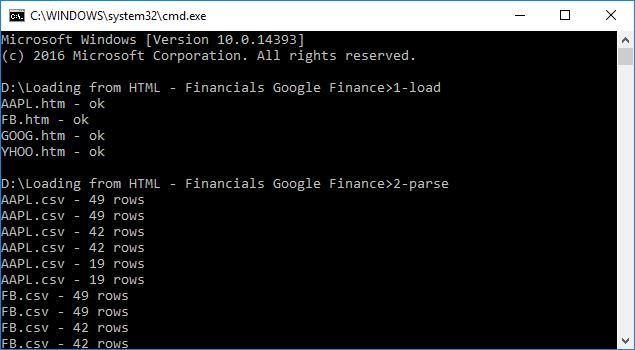 Market data download using Market.csv